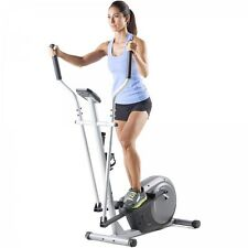 Elliptical Exercise Machine Adjustable Resistance Compact Cardio Workout