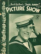 PICTURE SHOW, 7 April 1934, Jack Hulbert, Lionel Barrymore, Ricardo Cortez, more