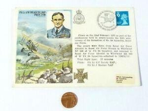 1977 60th Anniversary Formation No. 84 Squadron -Spelling error 3rd line Cover