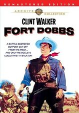Fort Dobbs 1958 (DVD) Clint Walker, Virginia Mayo, Brian Keith - New!