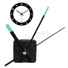 Silent Clock Quartz Movement Mechanism Long Green Spindle Hand Wall Repair Parts