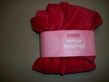 Nwt Gymboree -Sugar N Spice- Red Velour Leggings~Size-12-18m