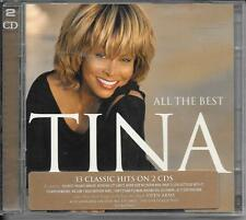 2 CD COMPIL 33 TITRES--TINA TURNER--ALL THE BEST