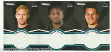 2016 NRL TRADERS FACES OF THE GAME PENRITH PANTHERS 3 card TEAM SET FOTG