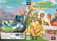 ALLA RICERCA DELLA VALLE INCANTATA 4 - LA TERRA DELLE NEBB(1995) vhs ex noleggio