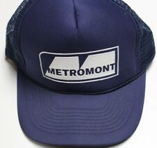 Vintage Trucker's Hat, Metromont, Snapback Meshback, Great Condition! Free Ship!