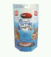 Instant Smile Comfort Fit Flex Top Teeth Veneer Cosmetic One Size Fits All, New