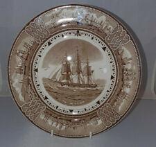 WEDGWOOD AMERICAN CLIPPER SHIP PLATE 'ANN Mc KIM' 23 cms