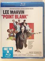 Point Blank (Blu-ray Disc, 2014) (NEW) Based on Donald Westlake Novel