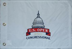2011 US Open OFFICIAL (Congressional) EMBROIDERED Flag - Rory McIlroy 1ST MAJOR