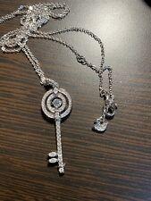 Swarovski - Sparkling Dance Key Pendant Necklace Value$129