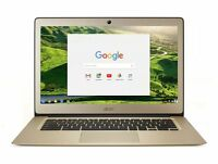 Acer Chromebook CB3-431 14'' Laptop N3060 1.6GHz 2GB eMMC 32GB Chrome OS Gold