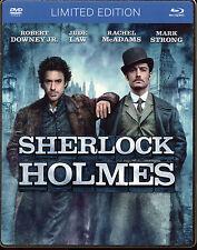 Sherlock Holmes Blu-ray + dvd STEELBOOK LIMITED EDITION