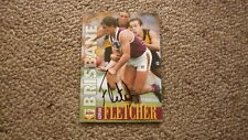 ADRIAN FLETCHER HAND SIGNED 1996 BRISBANE BEARS FC AFL CARD