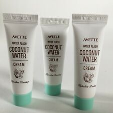Avette Water Flash Coconut Water Cream Hydration Boosting 0.33 oz  (Lot of 3)