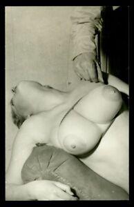 Vintage PINUP Studio Photo 1950s BUSTY BLONDE (Nudes)