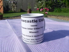 Newcastle United 1969 Fairs Cup Winners tribute mug 11oz original (brand new)