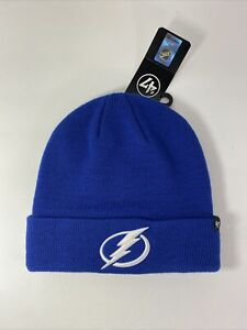 New NHL 47 Brand Knit Beanie Tampa Bay Lightning Haymaker One Size Fits Most