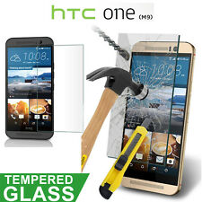 For HTC One M9 e Real Tempered Glass Ultra Clear Screen Protector Guard Film