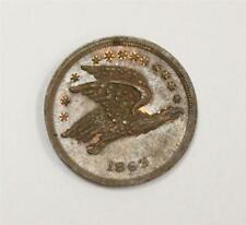 Flying eagle cent 1863 Wright Cincinnati Ohio Civil war token original
