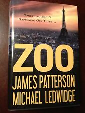 Zoo by James Patterson and Michael Ledwidge-2012, Hardcover,Duist Jacket