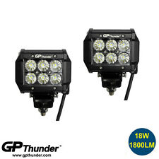 2pcs 4inch 18W LED Light Bar Work Fog Light Flood Lamp SUV Jeep 4WD ON SALE NOW