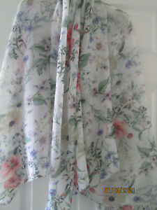 M&S Marks & Spencer spring colours pleated crinkle pashmina scarf shawl