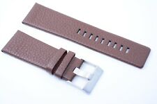 Herren Uhrenarmband Echtleder 27 mm Braun für DIESEL Uhren DZ 1668 1618 brown