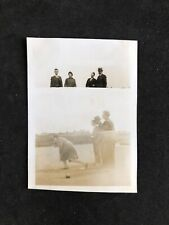 Vintage BW Photo #DB: WW2 1940s: Fleetwood '41: Double Image Not Wound On