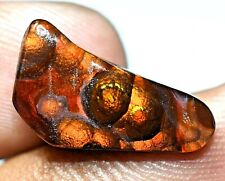 100% Natural Fire Agate AAA+ Quality Mexican 5.00 Ct Gemstone AGL Certified