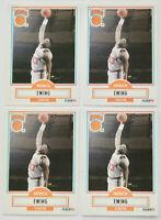 1990-91 FLEER BASKETBALL Patrick Ewing 4x Card Lot NM #125 New York Knicks HOF