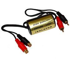 Filtro de ruido RCA para amplificador audio de coche