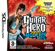 Guitar Hero On Tour Modern Hits Nintendo DS IT IMPORT ACTIVISION BLIZZARD