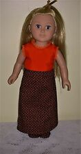 18 inch doll clothes to fit American Girl Doll or My Life Doll