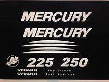 Mercury Verado Four Stroke Generation 2 Decal Kit  Marine Vinyl  200 - 300