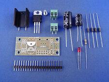 Festspannungsregler Bausatz Spannung wählbar  5V / 6V / 9V /12V / 15V / 24V