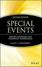 Special Events: Proven Strategies for Nonprofit Fundraising-ExLibrary