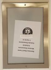 Elevator certificate frame 5.63 x 8.63 stainless Steel ref1020