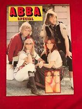 ABBA Abba Special 1977 UK 32-page colour magazine vintage original