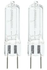 2- Lamps 75W G8 75-Watt 130V T4 Halogen Light Bulbs GY8.6 110V 120V Anyray