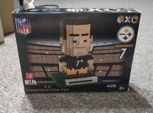 Ben Roethlisberger #7 BRXLZ Player 3D Toy PUZZLE 425 Pcs Pittsburgh Steelers NFL