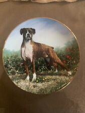The Danbury Mint Standing Proud Boxers Limited Edition Simon Mendez Plate