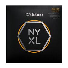 D'Addario NYXL Bass Guitar Strings for Double Ball end Steinberger gauges 50-105