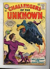 CHALLENGERS OF THE UNKNOWN # 35 / DC 1963 / GOOD / MOON BEAST.