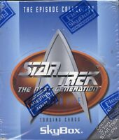 Star Trek The Next Generation TNG Episodes Season 5 Card Box