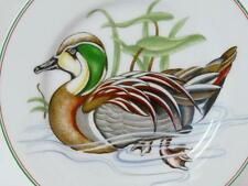 "Fitz & Floyd Canard Sauvage Salad Plate Green Wood Duck 7-5/8"" Mae In Japan"