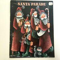 Santa Parade Tole Painting Pattern Book Susan Jill Hall Wreath Christmas Elves