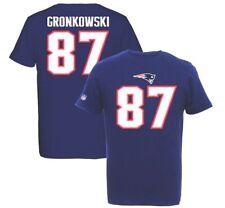 Voler Gronkowski #87 New England Patriots Players T-Shirt, NFL Football