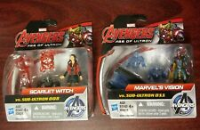 "Marvel Avengers Age of Ultron Scarlett Witch & Vision 2.5"" Action Figure Set"