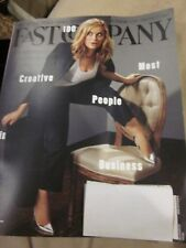 FAST COMPANY MAGAZINE JUNE 100 MOST CREATIVE PEOPLE IN BUSINESS AMY POEHLER NEW